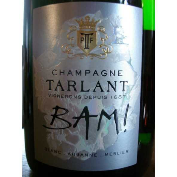 CHAMPAGNE TARLANT BAM BRUT NATURE
