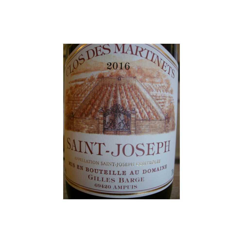 SAINT JOSEPH ROUGE CLOS DES MARTINETS BARGE