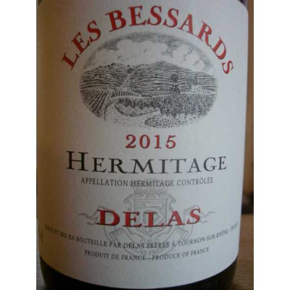 HERMITAGE ROUGE LES BESSARDS DELAS 2015