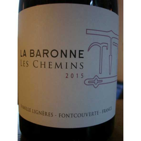 CORBIERES LES CHEMINS LA BARONNE 2015