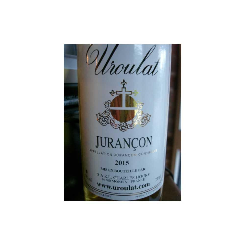 JURANCON Uroulat Charles Hours 2015