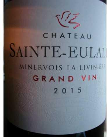 CHATEAU Sainte Eulalie GRAND VIN Minervois La livinière 2015