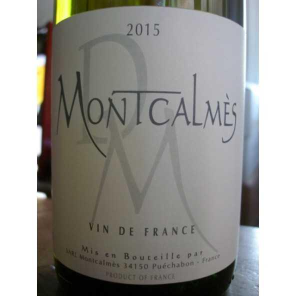 DOMAINE DE MONTCALMES BLANC VIN DE FRANCE