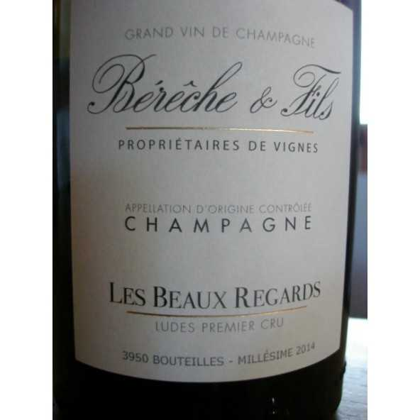 CHAMPAGNE BERECHE CHARDONNAY BEAUX REGARDS BRUT