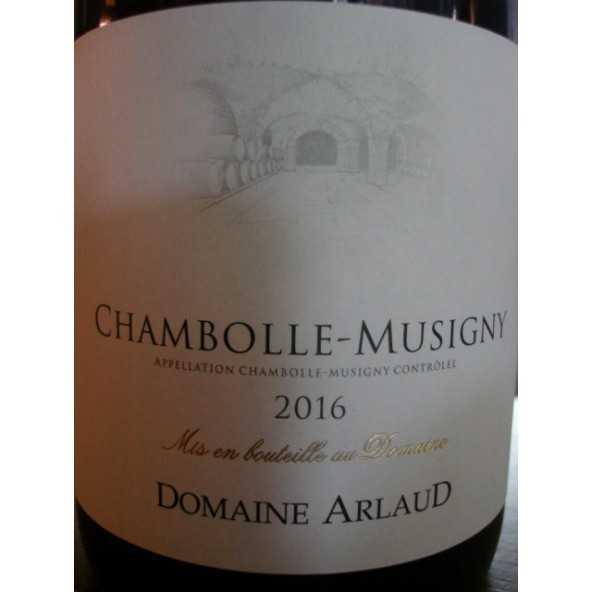 CHAMBOLLE MUSIGNY DOMAINE ARLAUD 2015