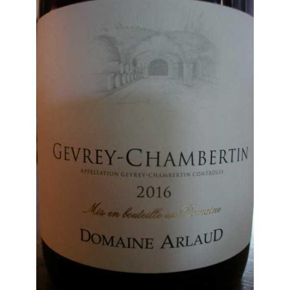 GEVREY CHAMBERTIN Domaine ARLAUD 2015