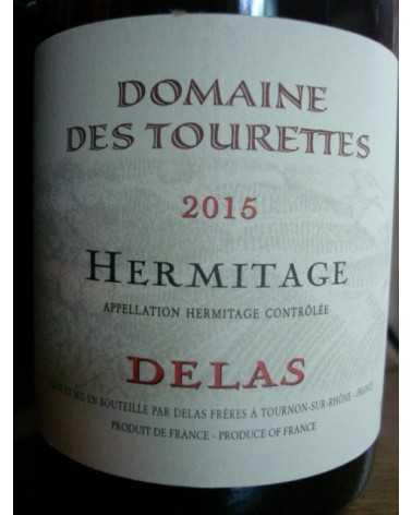 HERMITAGE Rouge Domaine des Tourettes DELAS 2015