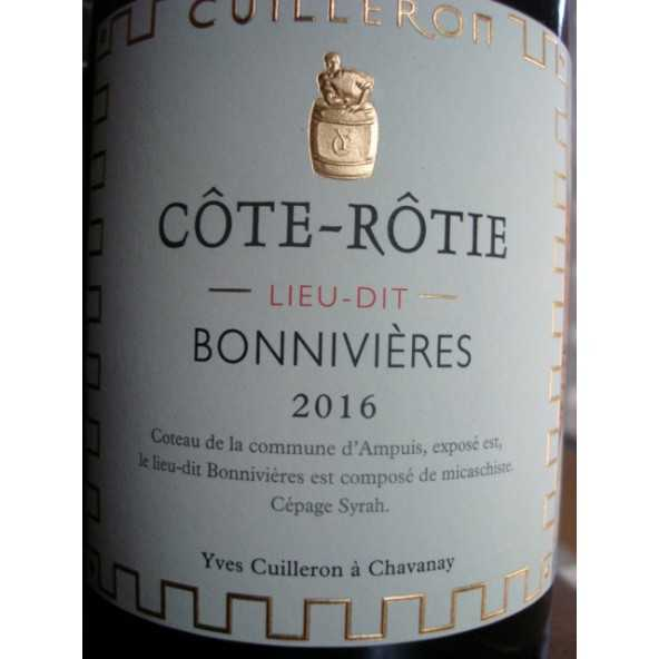 COTE ROTIE BONNIVIERES YVES CUILLERON 2016