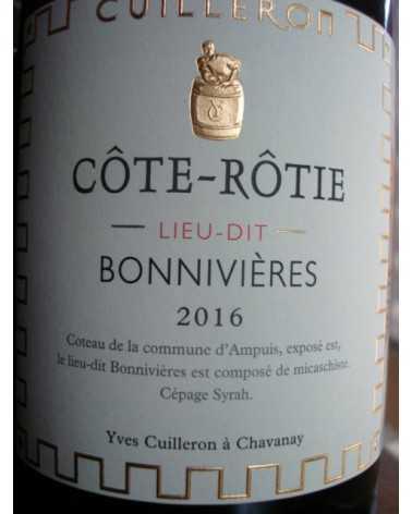 COTE ROTIE BONNIVIERES YVES CUILLERON 2016