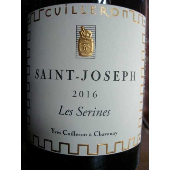 SAINT JOSEPH rouge Les Serines Cuilleron 2016