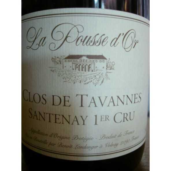SANTENAY 1er crû Clos Tavannes Pousse d'Or 2015