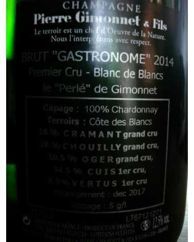 CHAMPAGNE GIMONNET GASTRONOME 2014