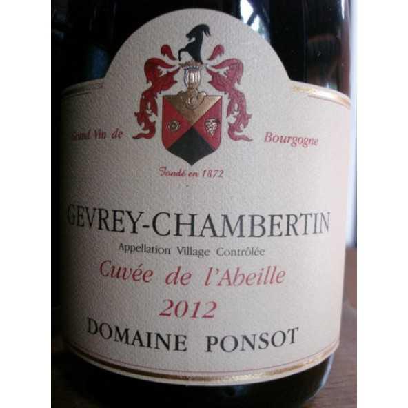 GEVREY CHAMBERTIN CUVEE DE L'ABEILLE DOM. PONSOT