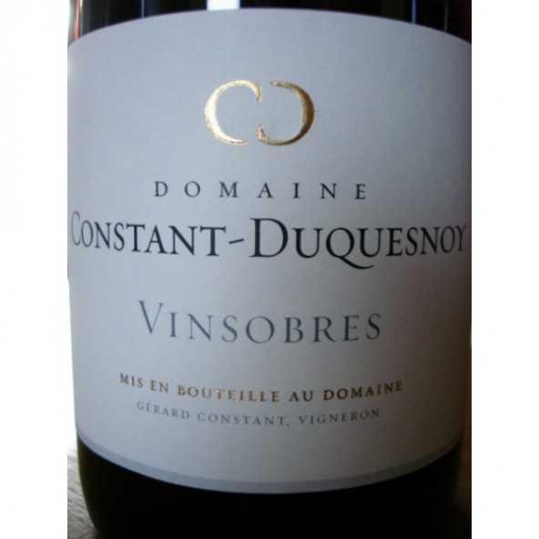 VINSOBRES Domaine Constant Duquesnoy