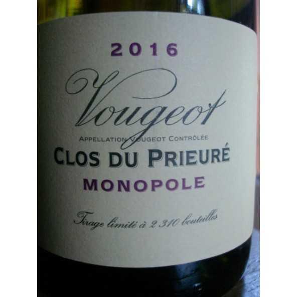 VOUGEOT BLANC Clos du Prieuré Domaine de la Vougeraie 2015
