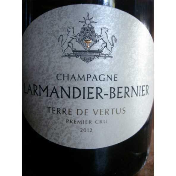CHAMPAGNE LARMANDIER-BERNIER TERRE DE VERTUS 2012
