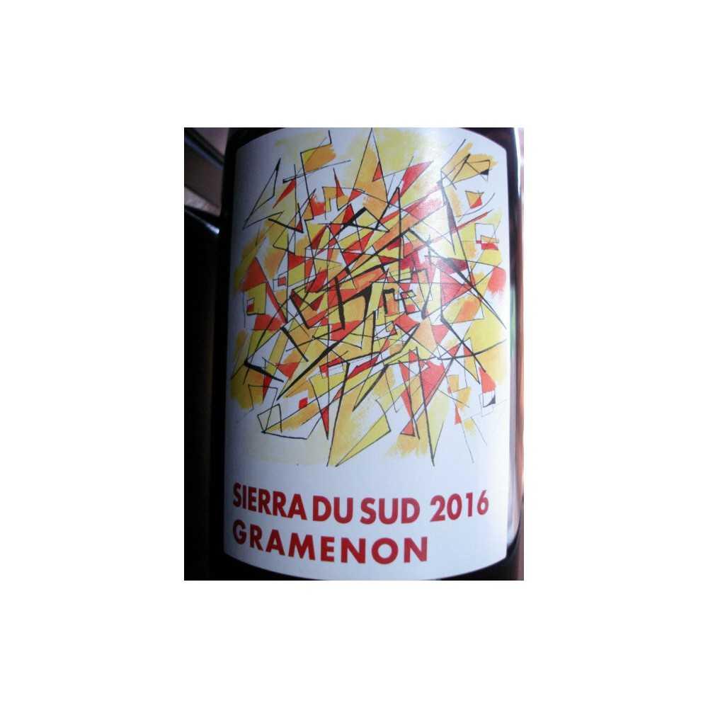 DOMAINE GRANEMON COTES DU RHONE SIERRA DU SUD 2016