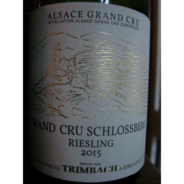 RIESLING GRAND CRU SCHLOSSBERG TRIMBACH 2015