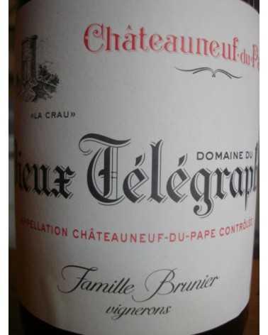 CHATEAUNEUF DU PAPE Domaine du VIEUX TELEGRAPHE rouge 2015
