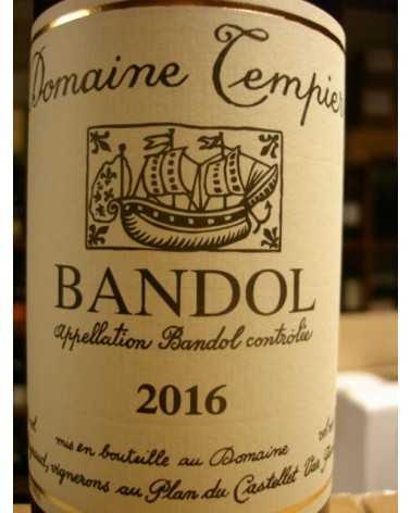 BANDOL ROUGE DOMAINE TEMPIER 2016