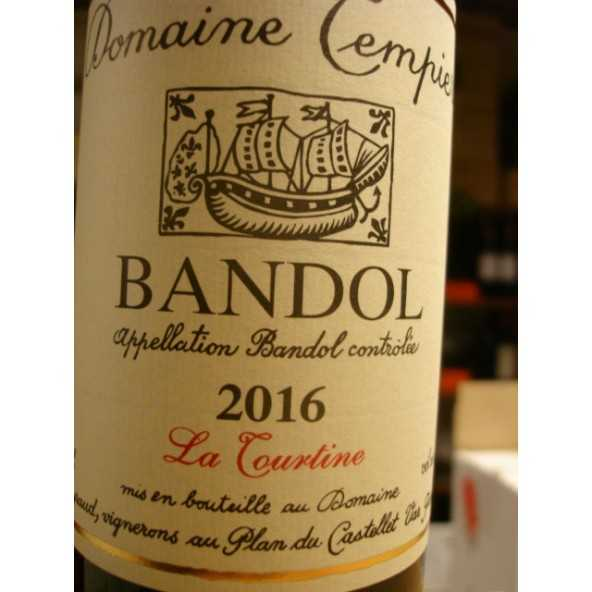 BANDOL ROUGE LA TOURTINE TEMPIER 2016