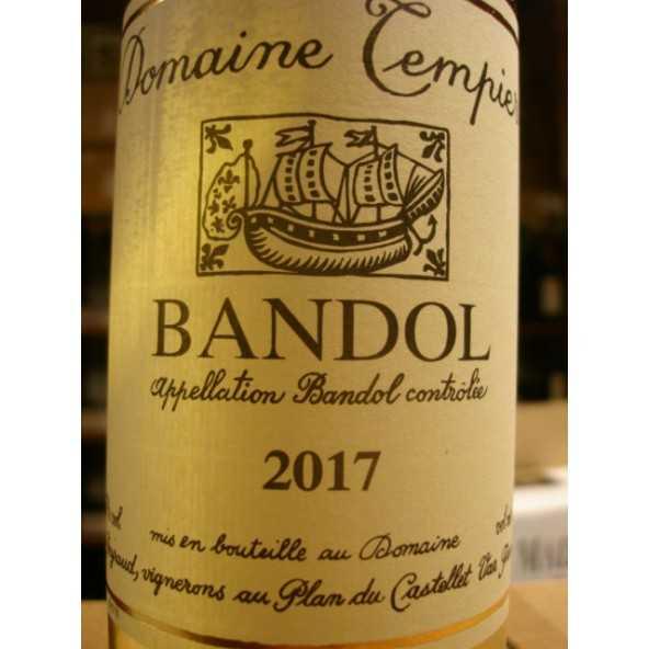 BANDOL BLANC TEMPIER 2016