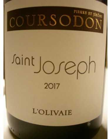 SAINT JOSEPH rouge L'Olivaie Coursodon 2016