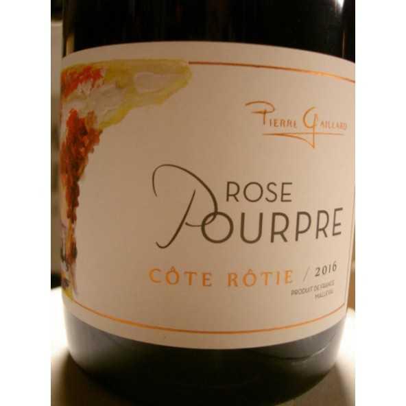COTE ROTIE ROSE POURPRE PIERRE GAILLARD 2015