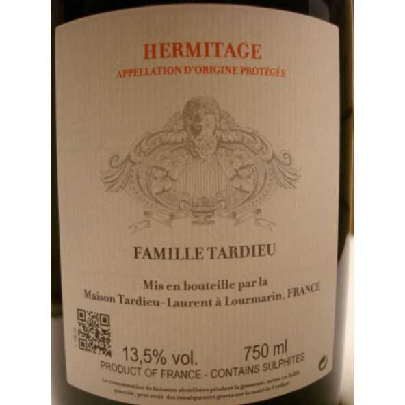 HERMITAGE ROUGE TARDIEU LAURENT 2016