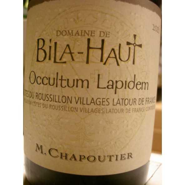 Occultum Lapidem Domaine Bila-Haut Cotes du Roussillon Villages Chapoutier 2015