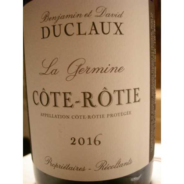 COTE ROTIE DUCLAUX LA GERMINE 2015