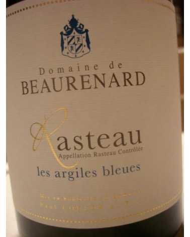 COTES DU RHONE Villages RASTEAU Les Argiles Bleues Domaine de BEAURENARD 2015