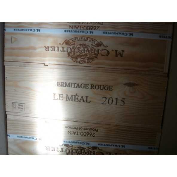HERMITAGE ROUGE LE MEAL MAGNUM CHAPOUTIER 2015