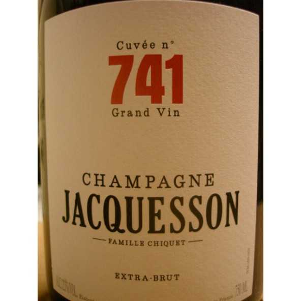 CHAMPAGNE JACQUESSON Cuvée 741 Magnum