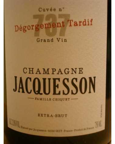 CHAMPAGNE JACQUESSON Cuvée 735 Dégorgement Tardif