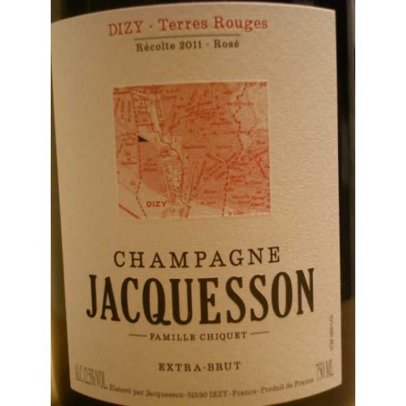 CHAMPAGNE JACQUESSON DIZY TERRES ROUGES ROSE 20