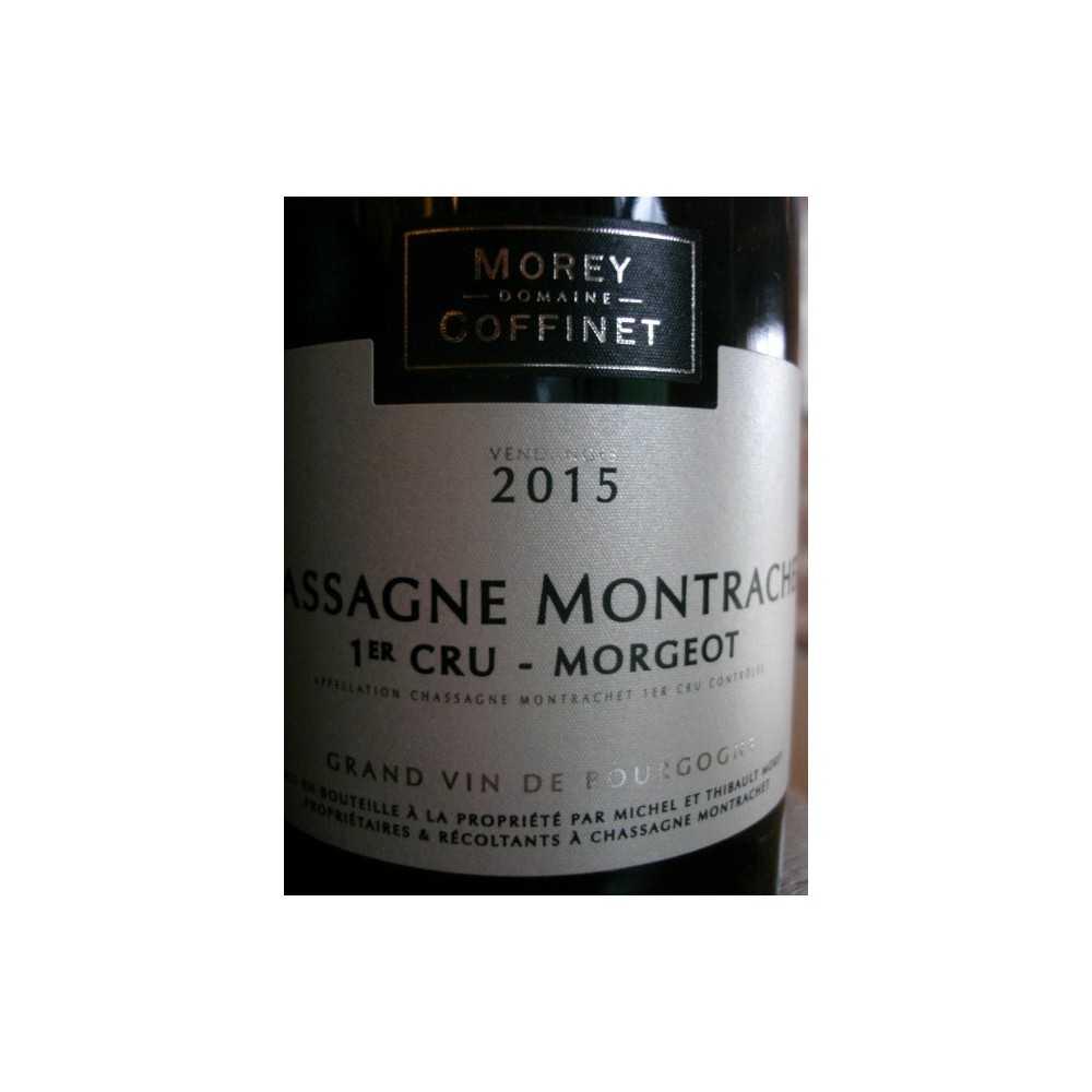 CHASSAGNE MONTRACHET ROUGE 1er CRU MORGEOT MOREY COFFINET 20