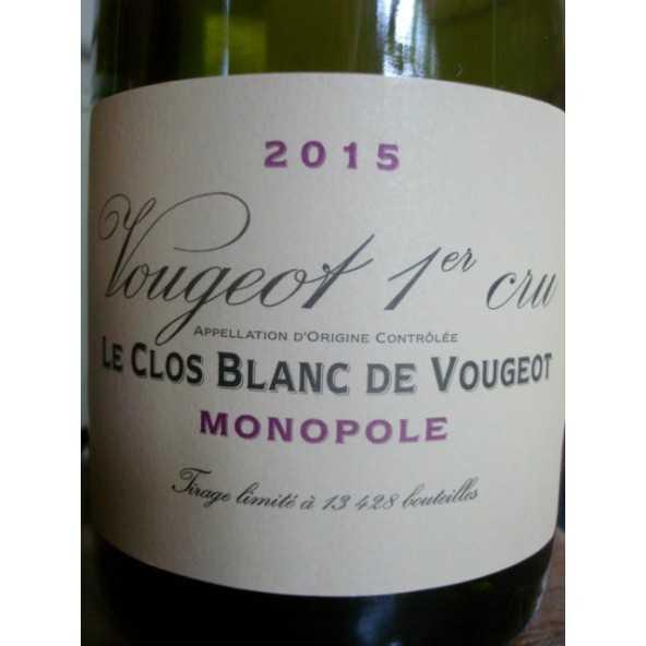 CLOS BLANC DE VOUGEOT Domaine de la Vougeraie 2014