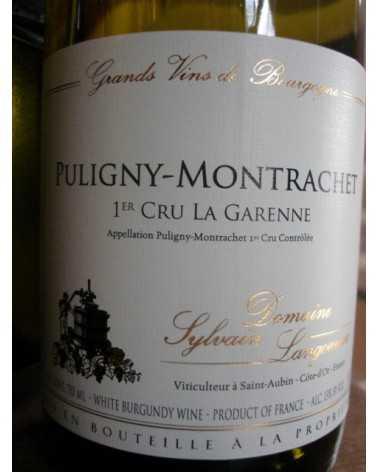 "Puligny-Montrachet 1er Cru ""La Garenne"" Domaine Sylvain Langoureau 2017"