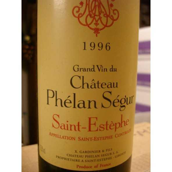 CHATEAU PHELAN SEGUR 1996