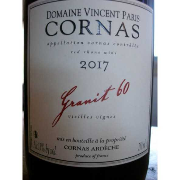 CORNAS Granit 60 Vincent Paris 2016
