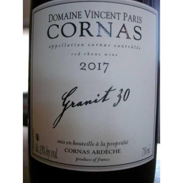 CORNAS Granit 30 Vincent Paris 2016