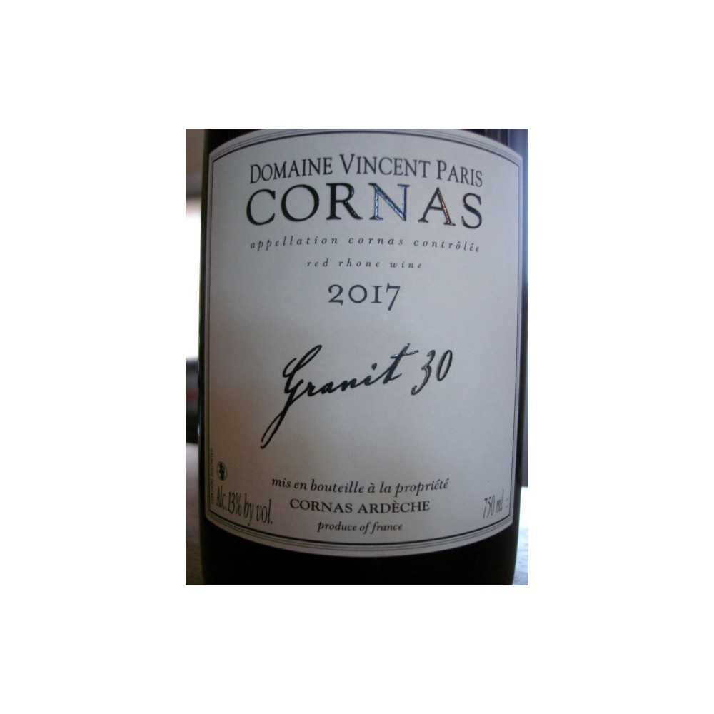 CORNAS Granit 30 Vincent Paris 2016