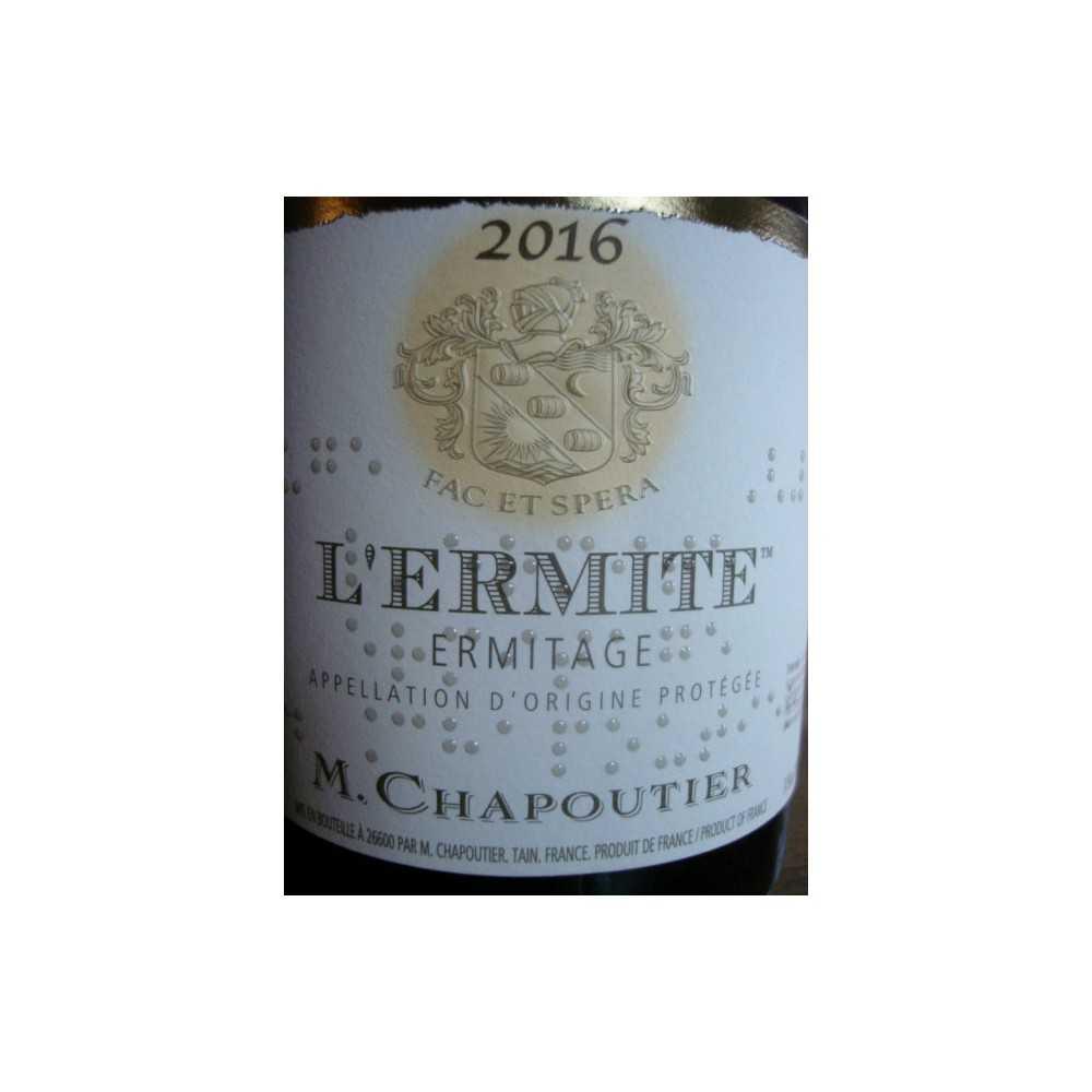 HERMITAGE L'ERMITE ROUGE CHAPOUTIER 2015