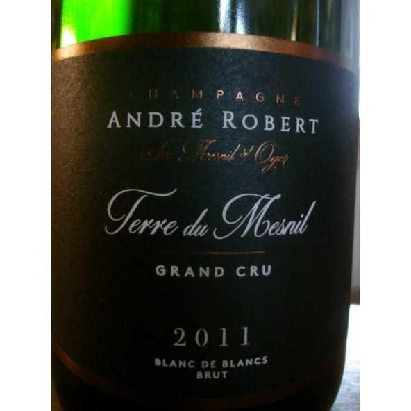 CHAMPAGNE ANDRE ROBERT TERRES DU MESNIL GRAND CRU 2011