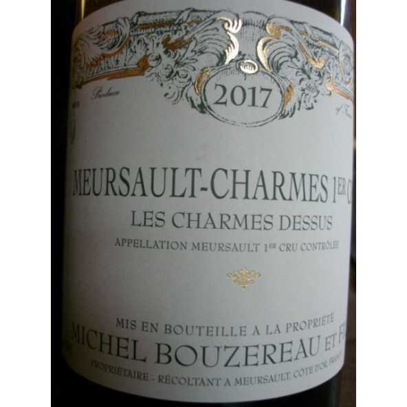 MEURSAULT CHARMES  Dessus 1er cru  Michel Bouzereau 2016