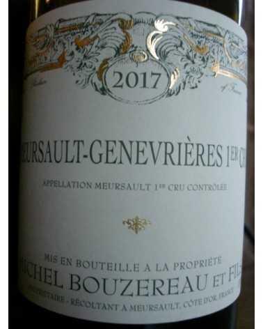 MEURSAULT GENEVRIERES 1er cru  Michel Bouzereau 2016