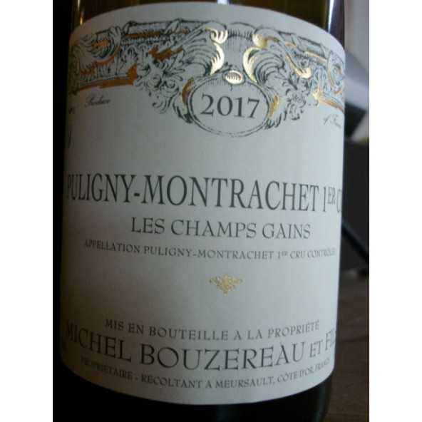 Puligny Montrachet 1er cru Les Champs Gains Michel Bouzereau 2016