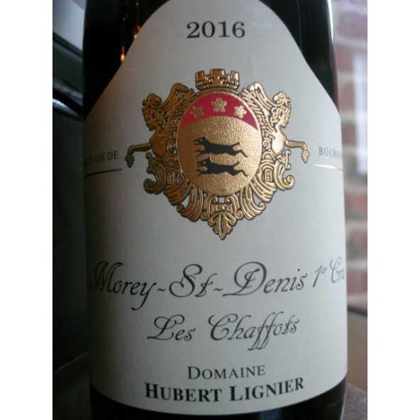 MOREY SAINT DENIS 1ER CRU LES CHAFFOTS HUBERT LIGNIER 2015