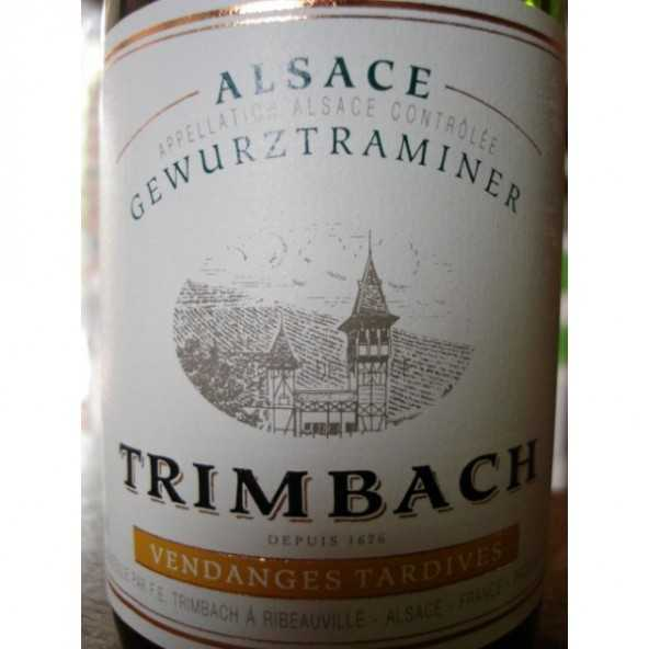 GEWURZTRAMINER VENDANGES TARDIVES TRIMBACH